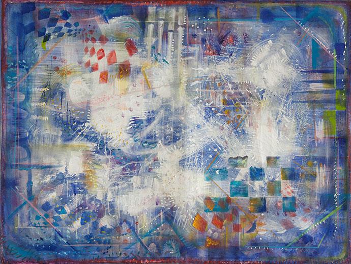 Blue Composition #6, Alexander Rodin (Original Works)