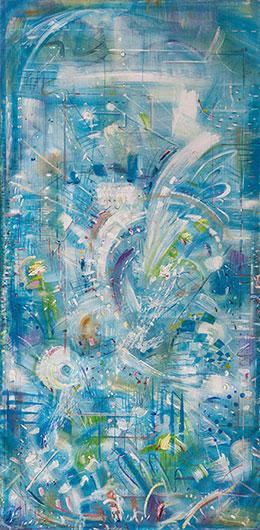 Vision in Blue Color, Alexander Rodin (Original Works)