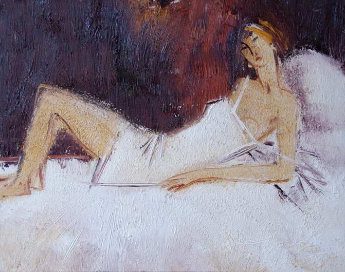 Resting, Alexander Susha