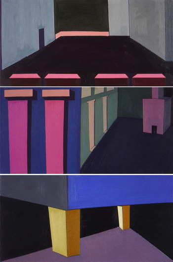 Internal Space (triptych), Alexei Ivanov
