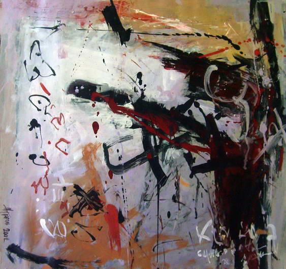 Hostilities. Composition 2, Anatoly Zhuravlev