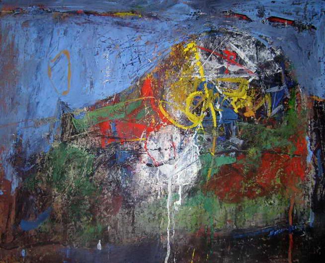 Mountain. Composition 2, Anatoly Zhuravlev