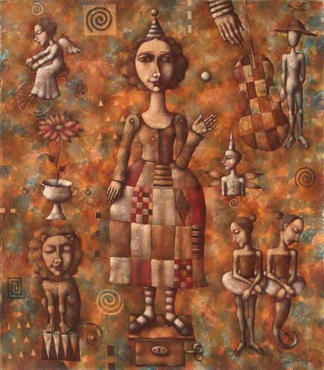 'Mechanical Dancer', Dmitry Zenkovich