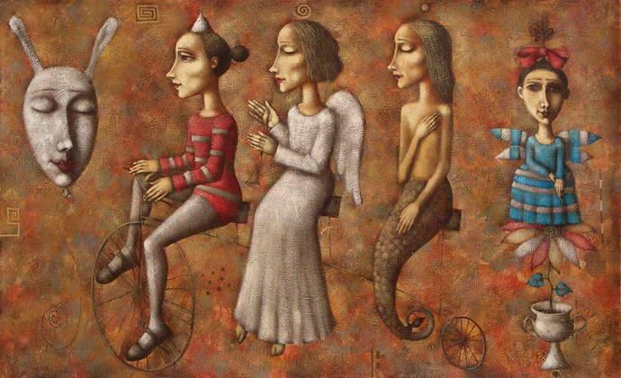 'Walk', Dmitry Zenkovich
