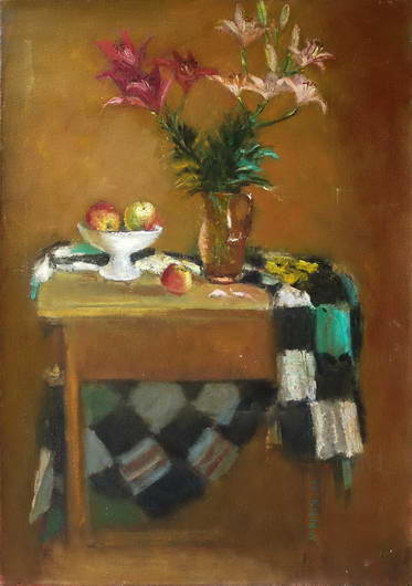 'Lilies and Apples', Maria Isaenok