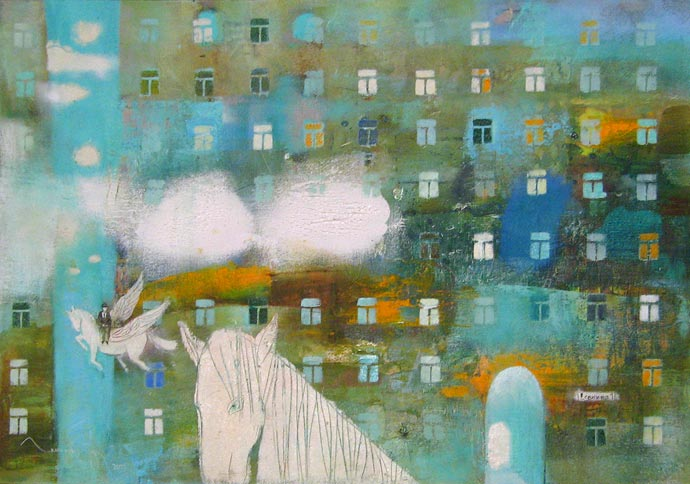 Morning in the City, Tatiana Grinevich