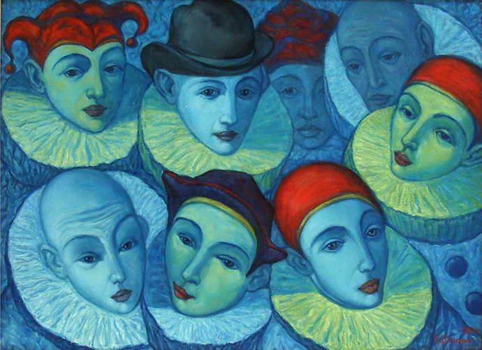 'Comedians', Victor Savchenko