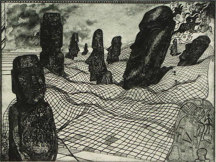 Inside Easter Island, Victor Savchenko