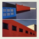 Alexei Ivanov, Factory (diptych)