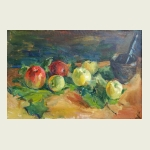 Alena Sharypa, Apples