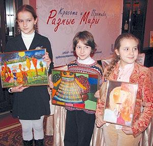 Lena Shepelkina, Polina Pugachevskaya and Uliana Garbuz