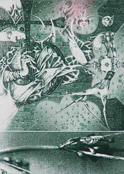 Yuri Yakovenko. Plumbum. Etching, photo polymer. 21cm x 14,5cm. 2007