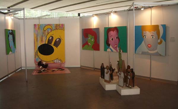 Mikhail Gulin at Belarusian Pavilion at 53d Venice Biennale