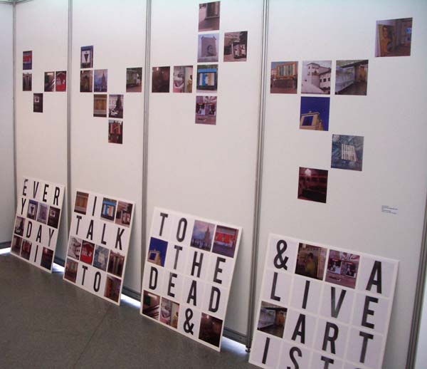 Sergei Shabokhin at Belarusian Pavilion at 53d Venice Biennale