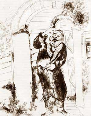 printed edition of Marc Chagall's etchings