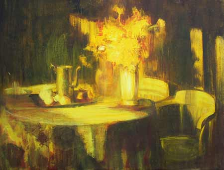 Vasily Sumarev. Still Life in Yellow