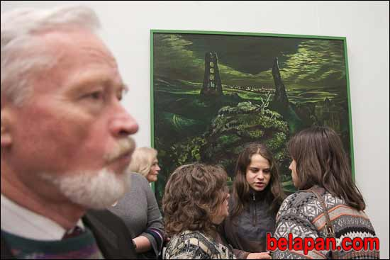 Vasily Sumarev. Opening of the exhibition