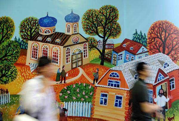 Igor Rimashevsky, Belarusian Pavilion, Expo 2010 Shanghai