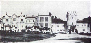 Smilavichy in 1900th Maniushka's estate and palace