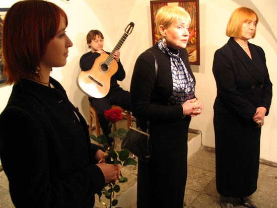 Anna Silivonchik. Gallery Tizengauz. Grodno, Belarus