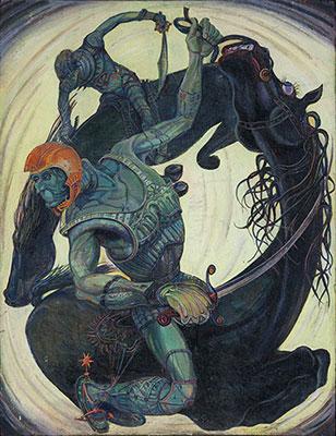 Alexander Rodin. Riders (1968)