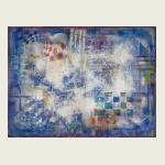 Alexander Rodin (Original Works), Blue Composition #6