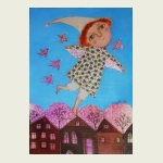 Anna Silivonchik, Migrating Birds