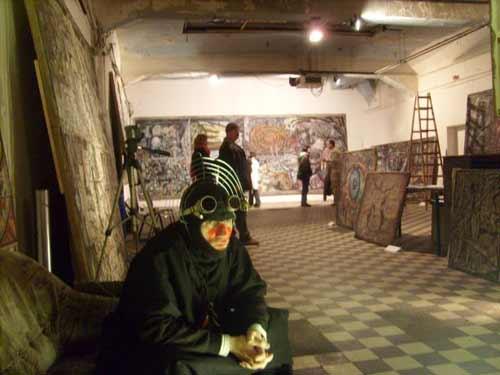 Alexander Rodin. Art exhibition in Berlin, Germany
