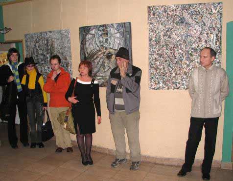 Alexander Rodin. Art exhibition in Minsk, Belarus