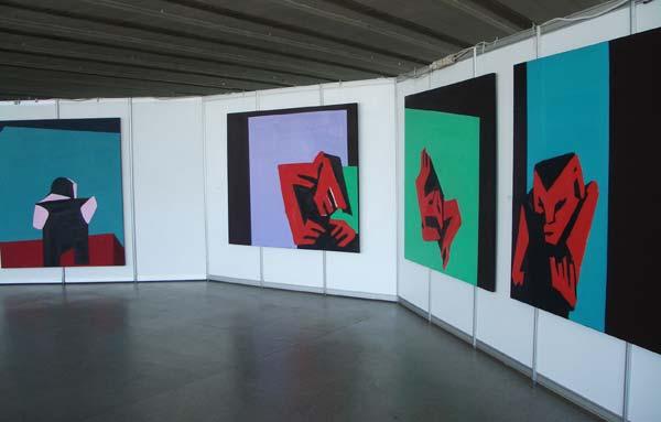 Alexei Ivanov at Belarusian Pavilion at 53d Venice Biennale