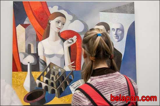 Vasily Sumarev. Opening of the exhibition