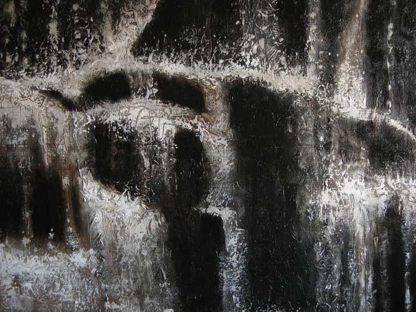 Waterfall, fragment, by Andrei Buryak