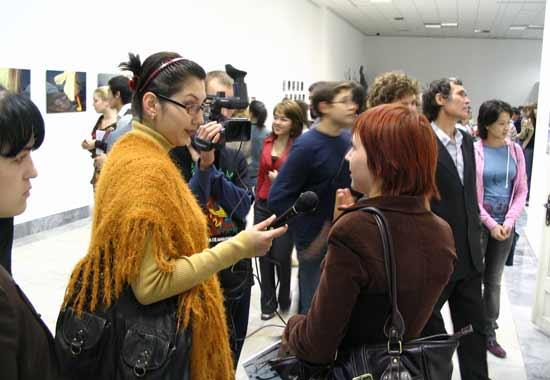Anna Silivonchik. The 4th Biennale of Contemporary Art. Tashkent, Uzbekistan